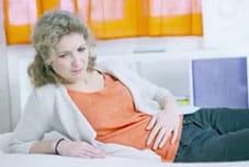 Hemorragias próximo à idade da menopausa.