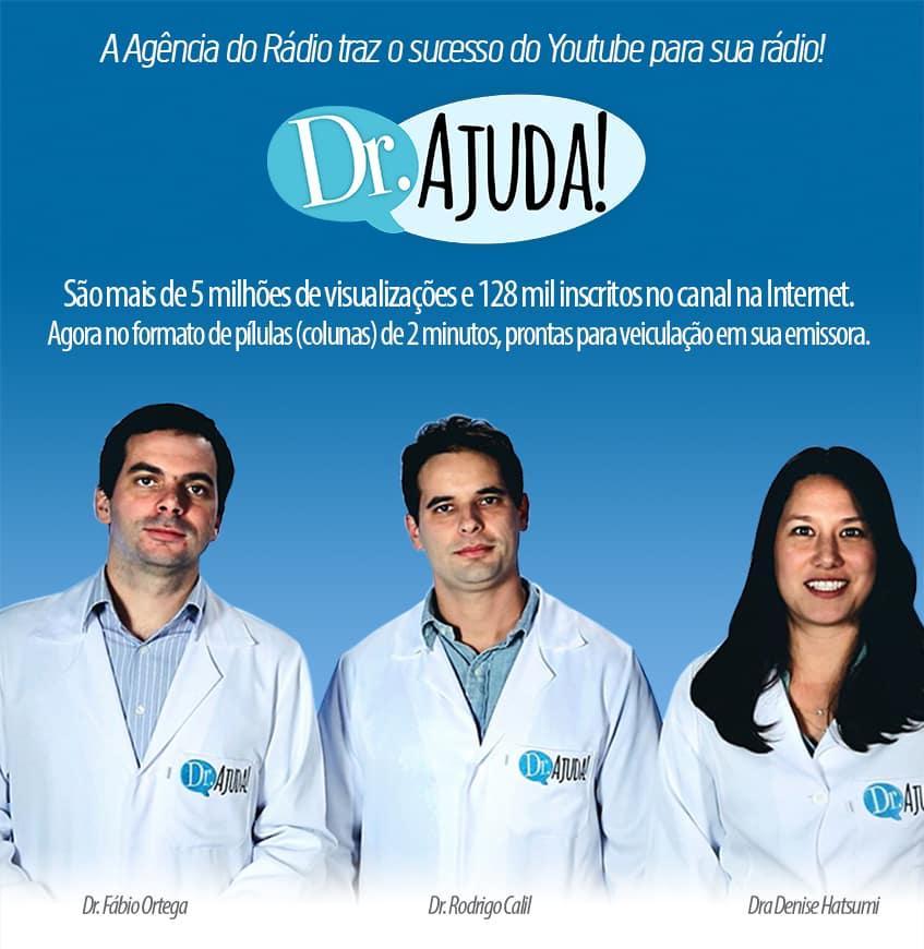 O Canal Doutor Ajuda está em centenas de rádios em todo o Brasil